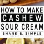 How To Make Cashew Sour Cream