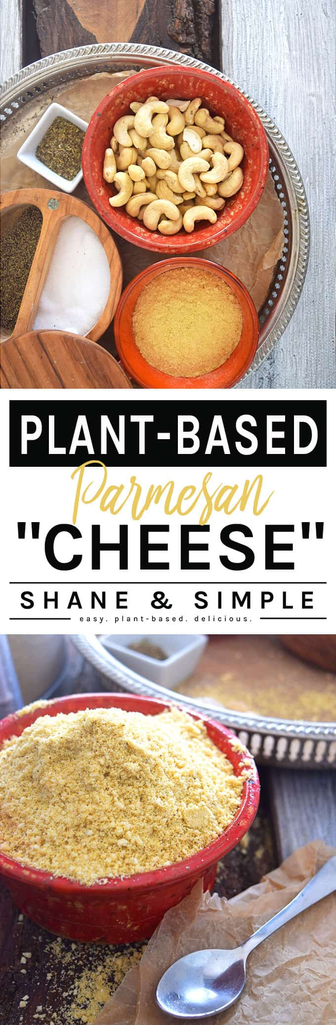 Plant-Based Parmesan Cheese