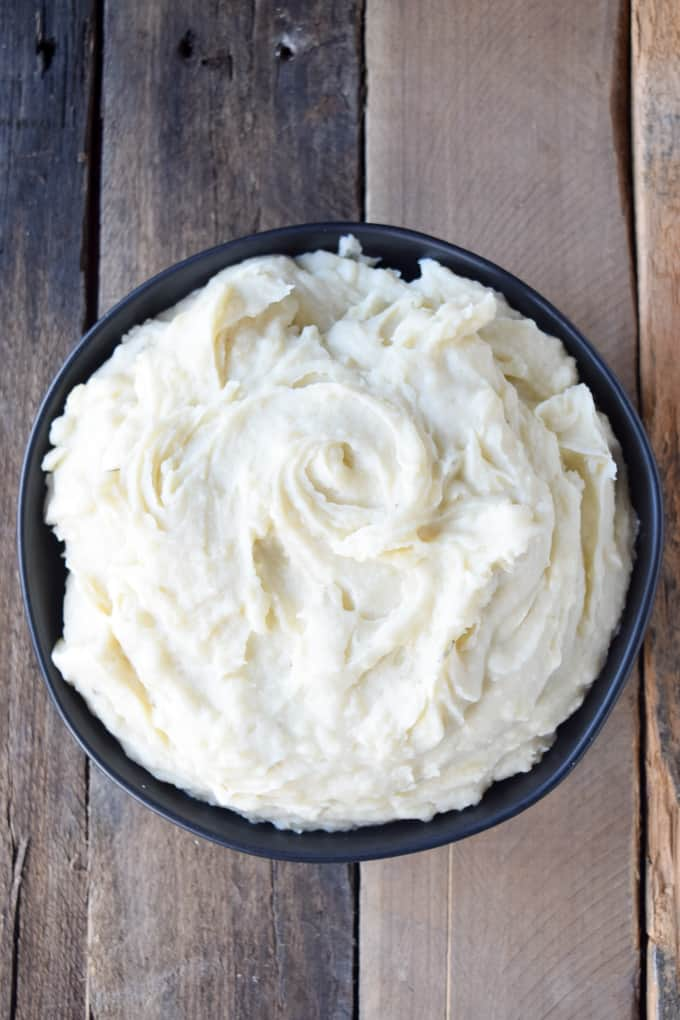Real Creamy Homemade Vegan Mashed Potatoes