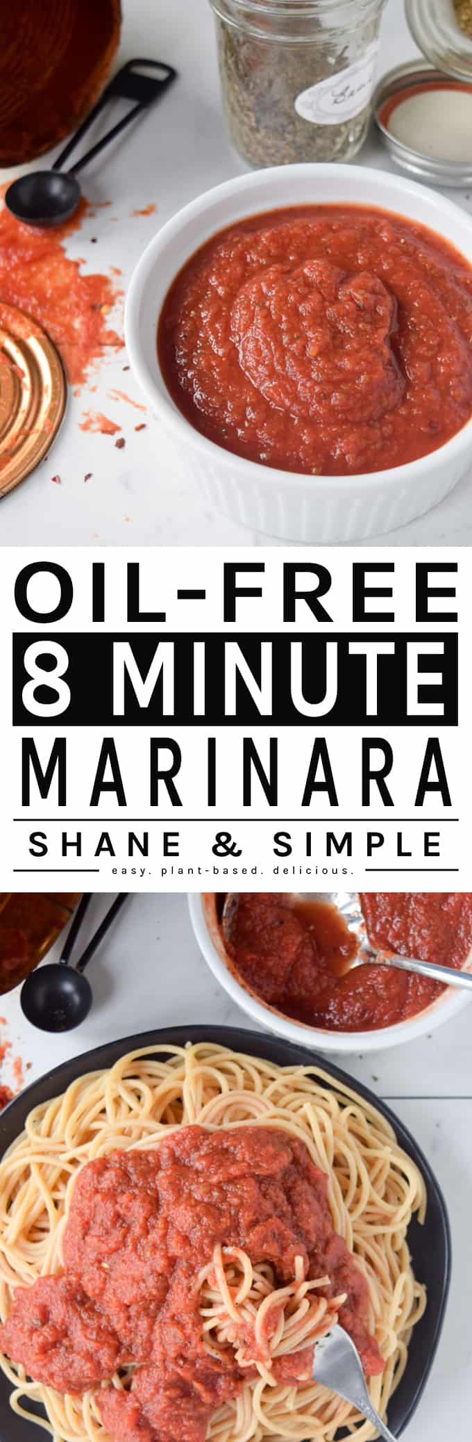 Oil Free 8-Minute Marinara