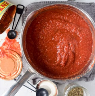Oil Free 8-Minute Marinara Sauce