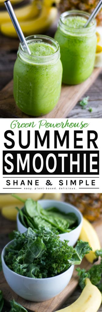 Green Powerhouse Summer Smoothie