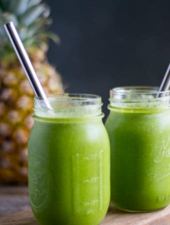 Island Green Summer Smoothie