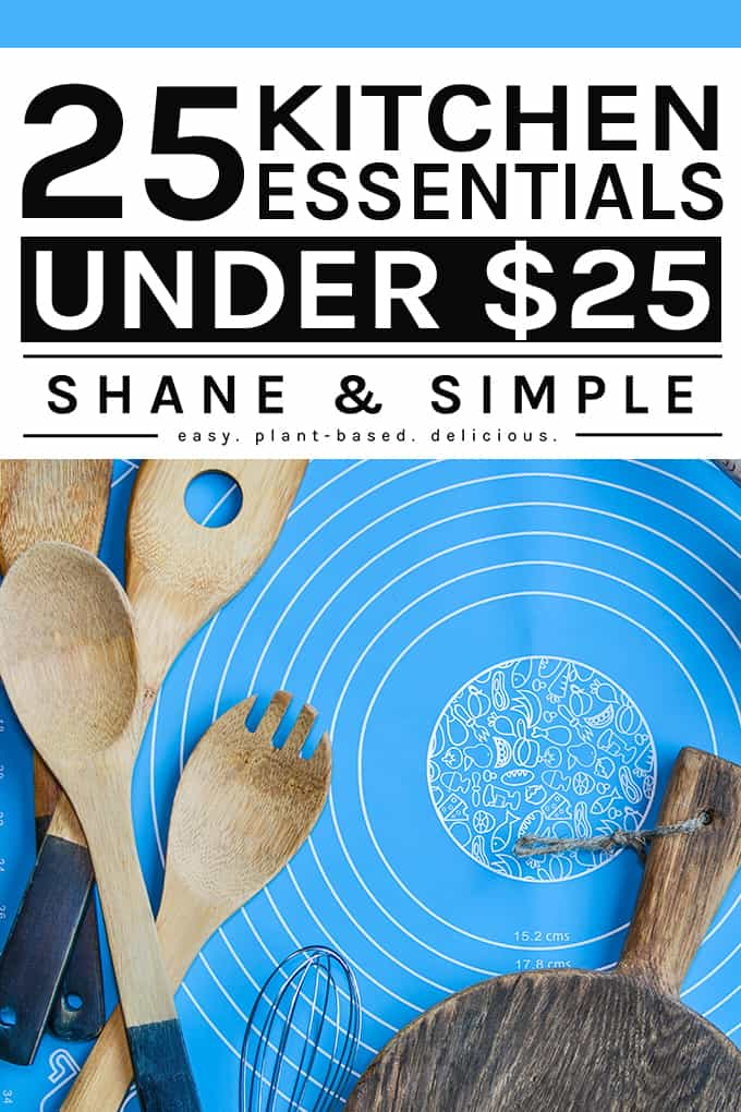 25 Kitchen Essentials Under 25 Dollars