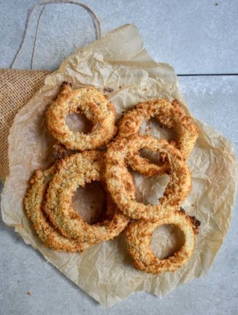 Crunchy Baked Onion Rings