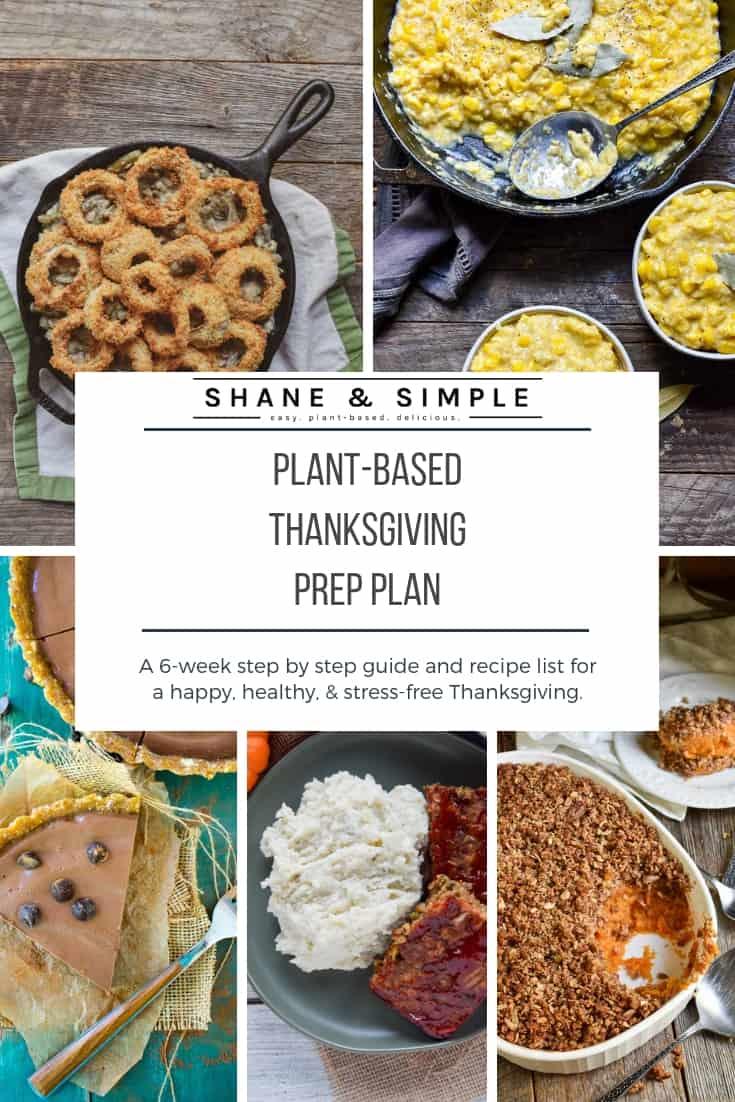plant-based thanksgiving prep plan