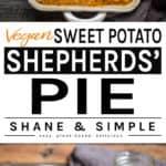 sweet potato shepherds pie pinterest banner.