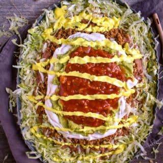 Mexican Seven Layer Dip