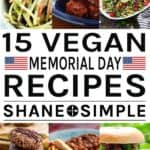 15 vegan memorial day recipes.
