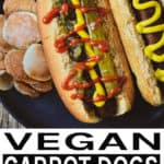 carrot dog pinterest banner.