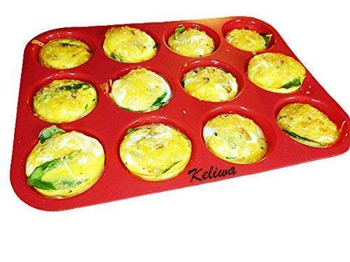 Non-StickSilicone Muffin / Cupcake Baking Pan