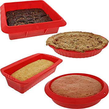 Nonstick Silicone Bakeware Baking Molds