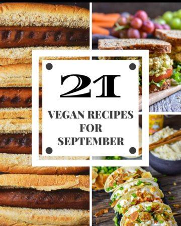 21 vegan recipes for september