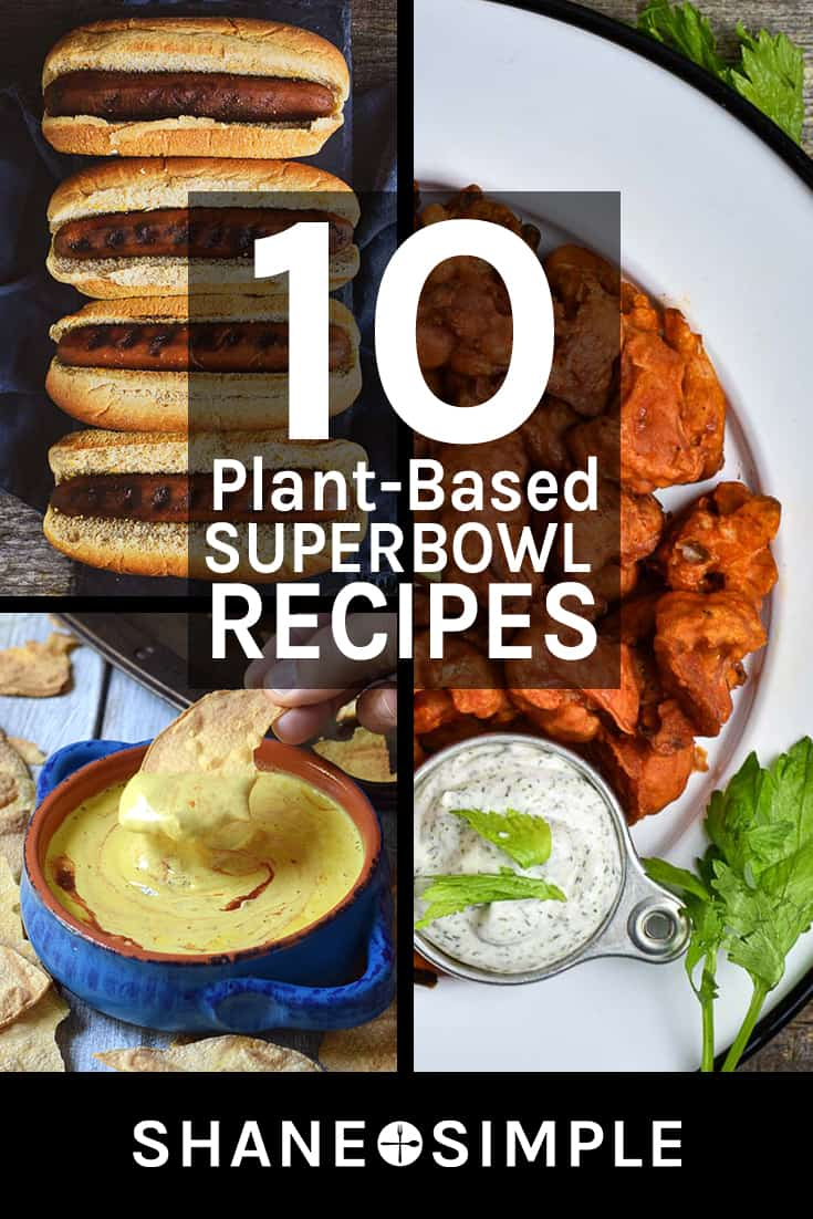 10 plant-based super bowl recipes