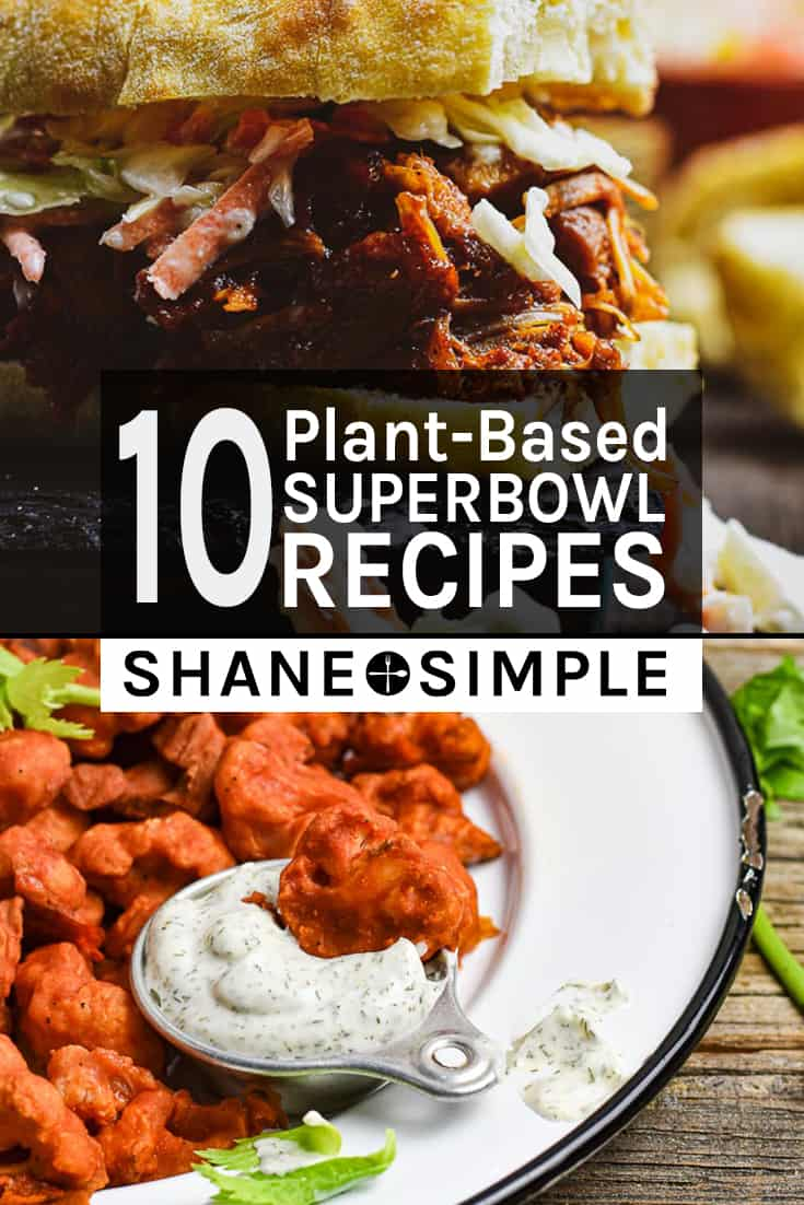 10 plant-based super bowl recipes
