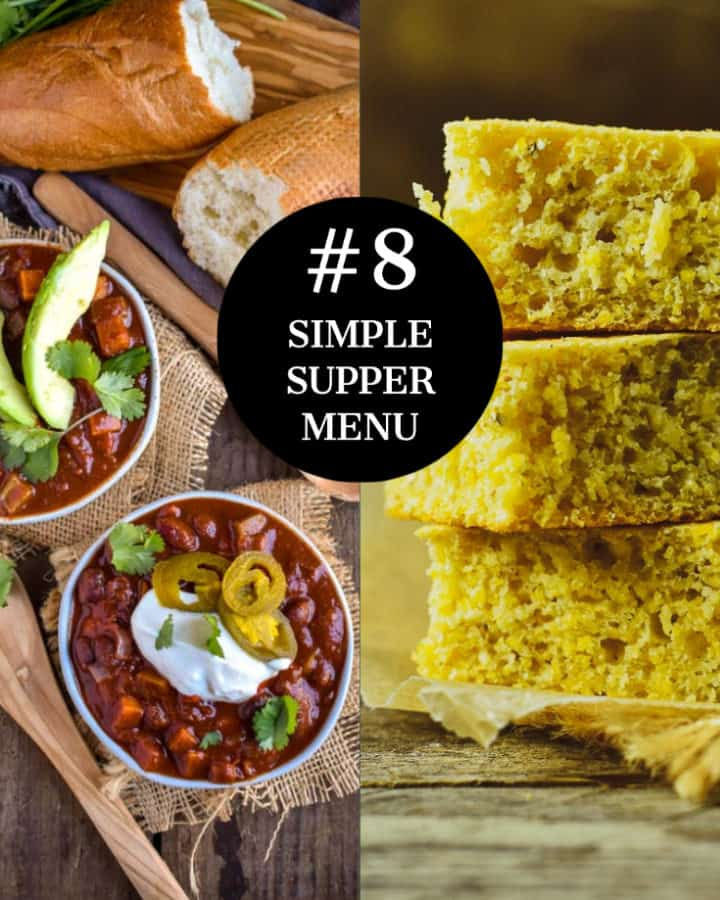 simple supper menu #8