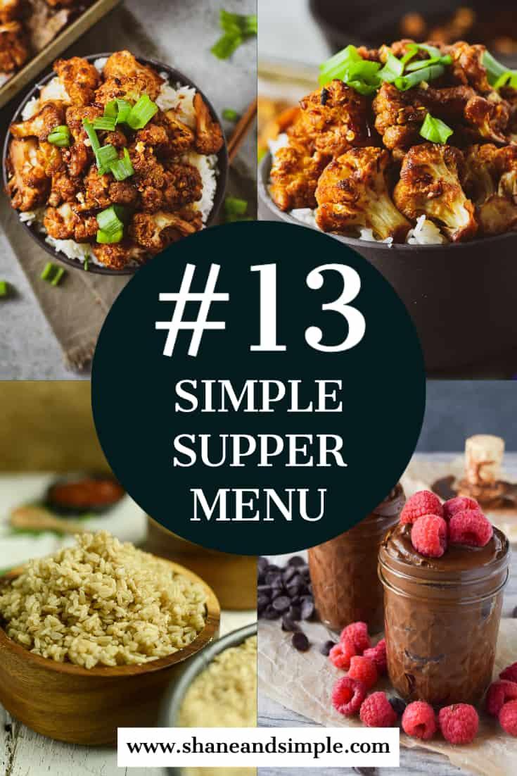 simple supper menu #13