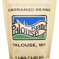 Kabuli Sierra Garbanzo Beans | Non-GMO Project Verified | 4 LBS | 100% Non-Irradiated | Certified Kosher Parve | USA Grown