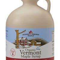 Hidden Springs Organic Vermont Maple Syrup, Grade A Dark Robust | 64 oz (half gallon)