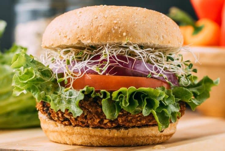 Plant-Based Pumpkin Seed Veggie Burgers Recipe   VEEG