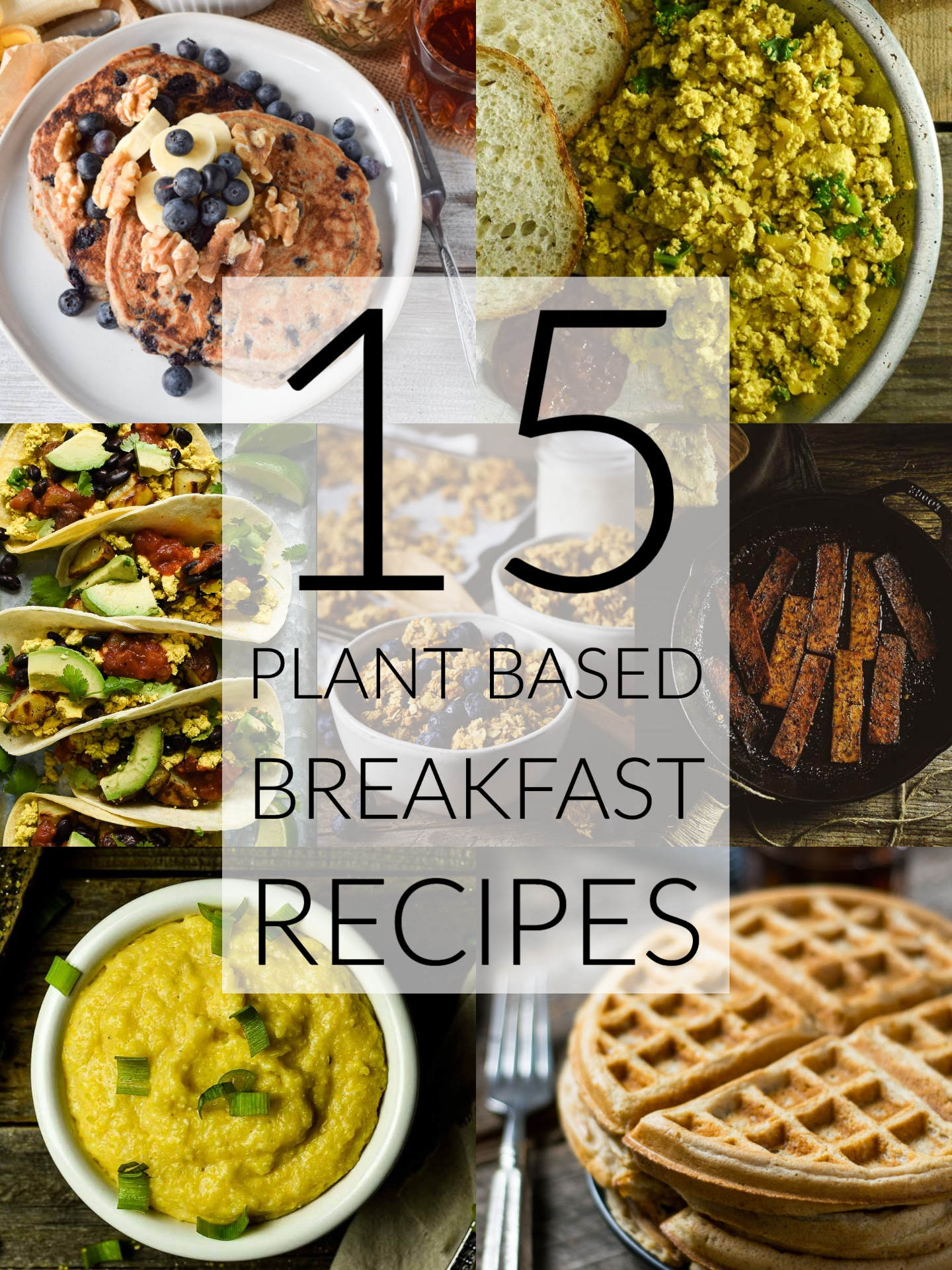 15 plant based breakfast recipes