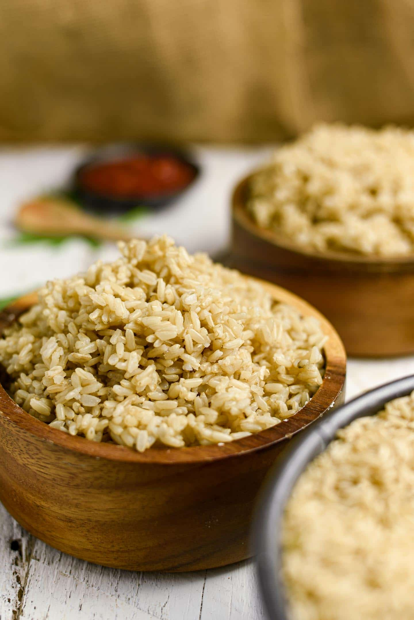 Instant brown rice is so easy to make, delicious, and a perfect hands off recipe.