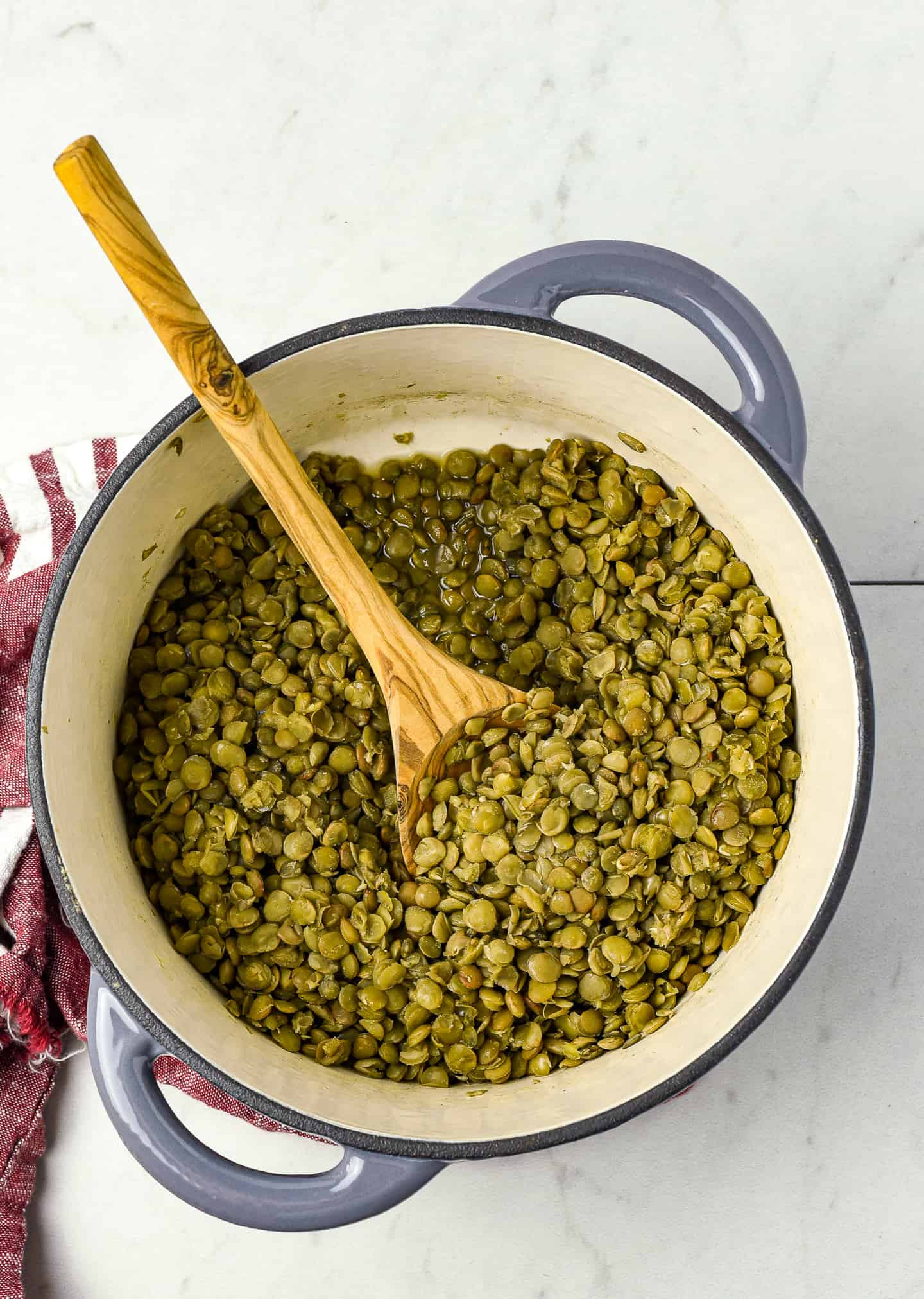 How to cook lentils perfectly every time! Lentils are so easy to make, inexpensive, delicious, and packed with protein and fiber. They're the perfect addition to salads, side dishes, and more.