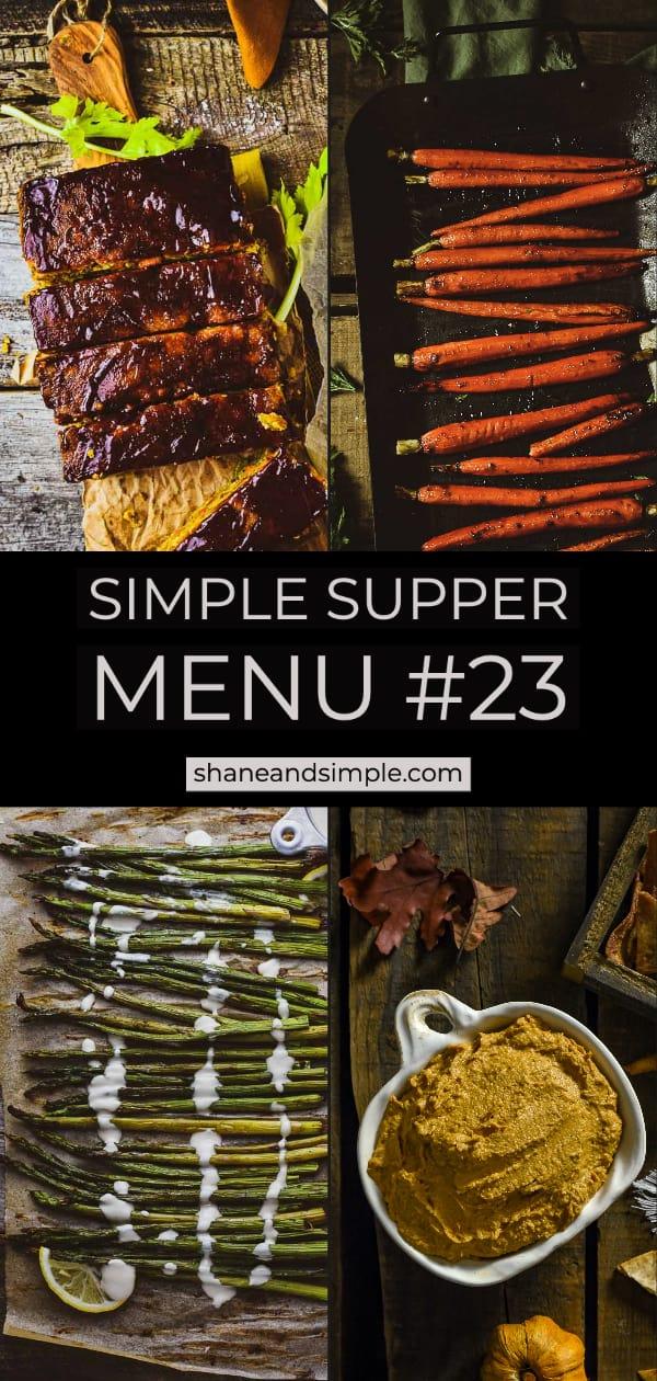 simple supper menu 23 long pinterest image