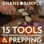 vegan meal planning and prepping featured image