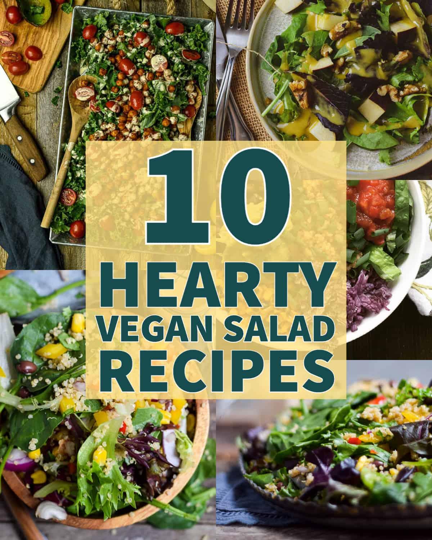 10 best vegan salad recipes.