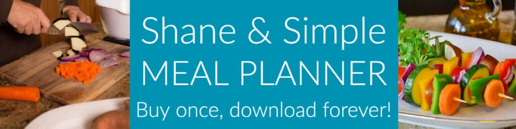 Shane and simple meal planner.