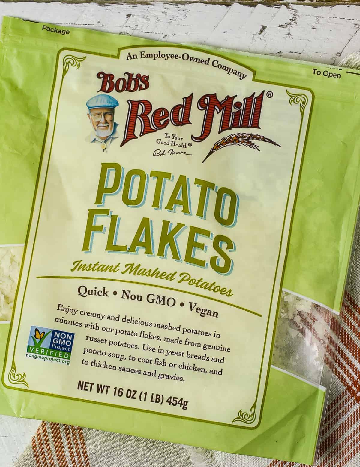 Bob's red mill potato flakes.