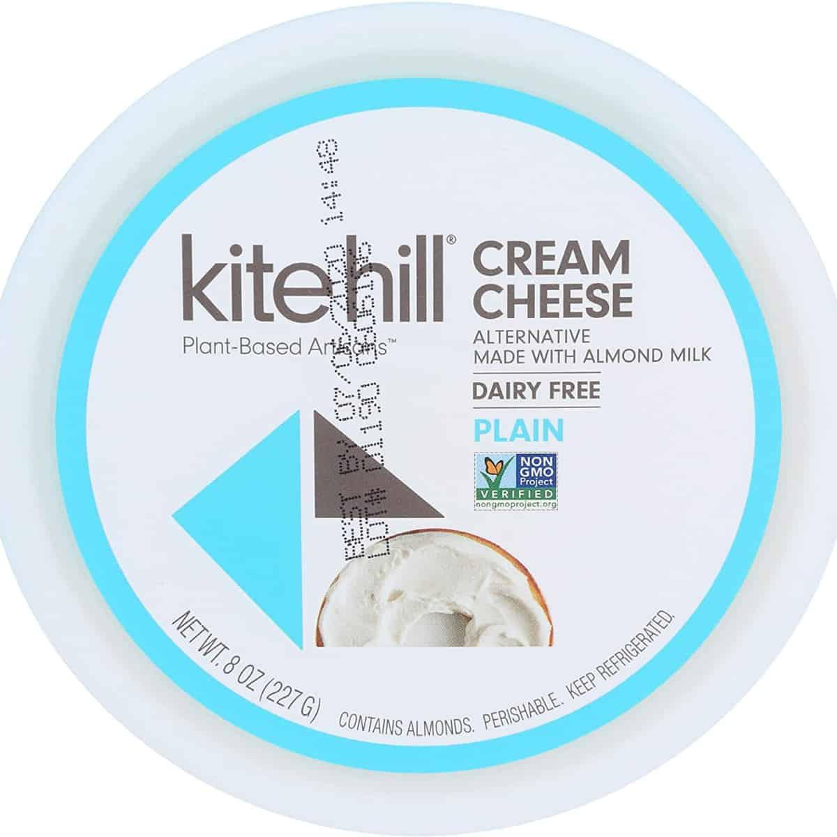 Kite hill cream cheese.