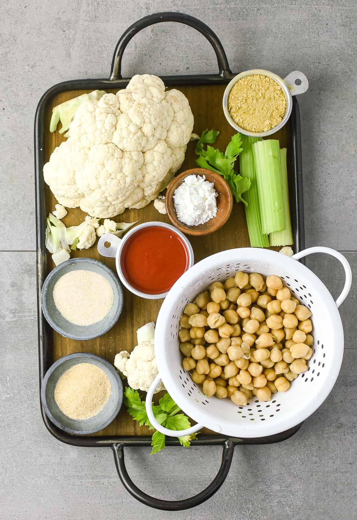 Casserole ingredients.
