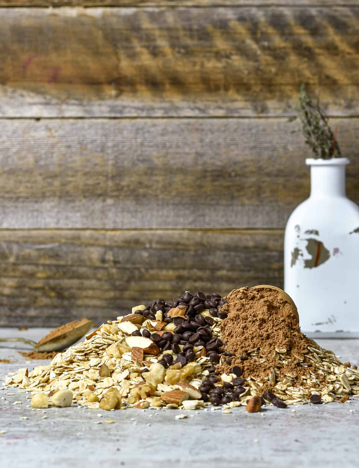 granola ingredients.