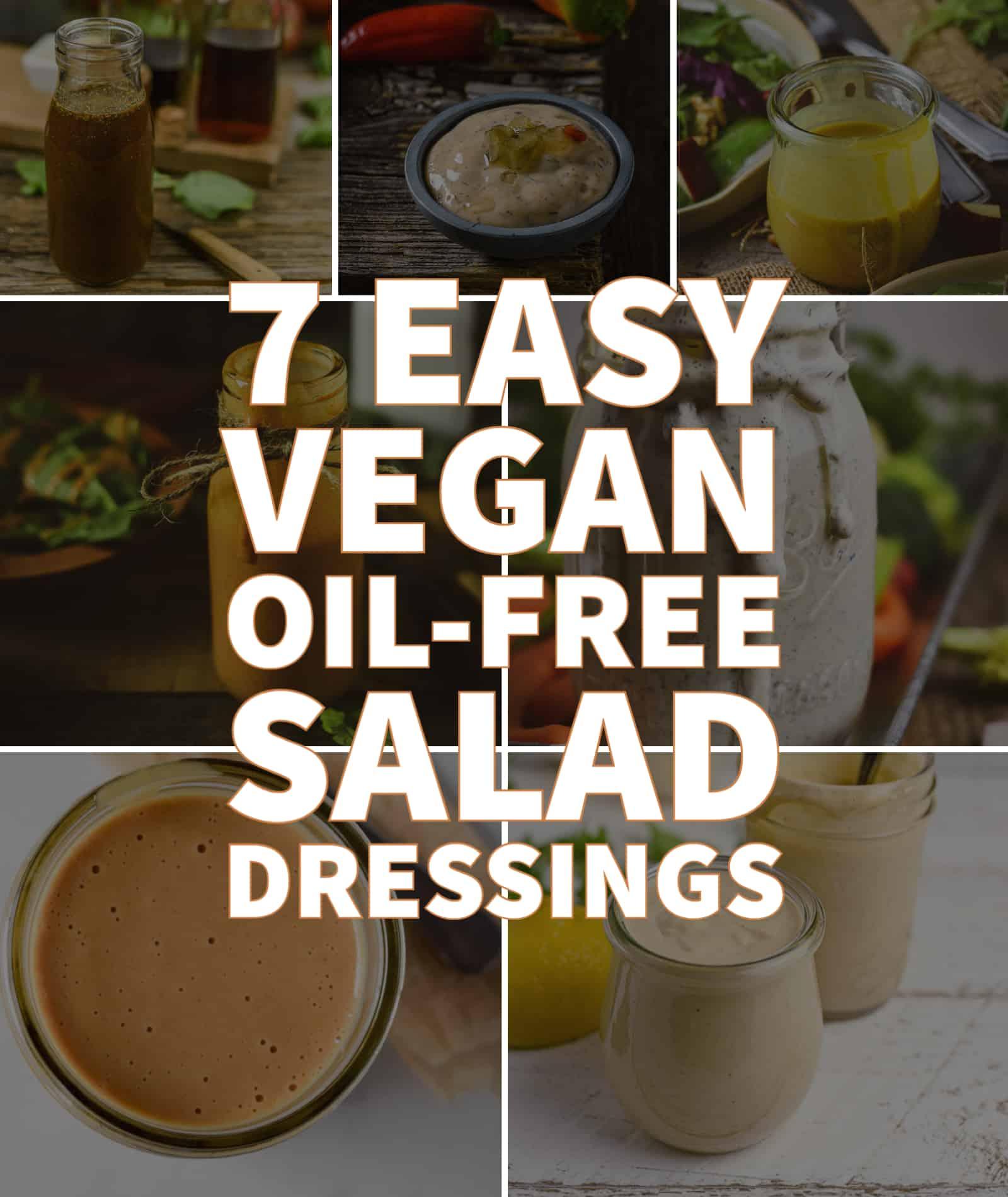 oil-free salad dressing recipes header